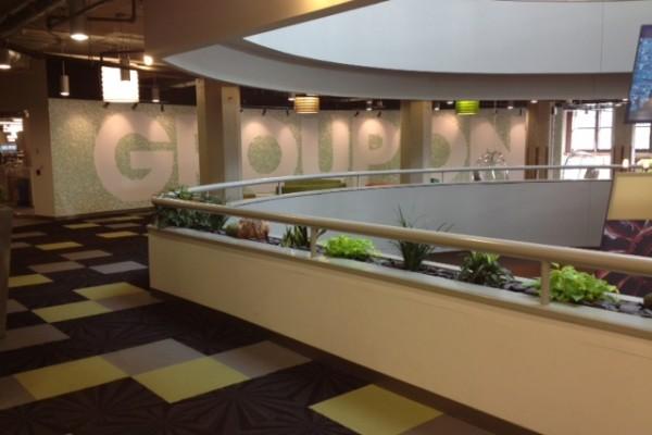 Groupon Main Lobby
