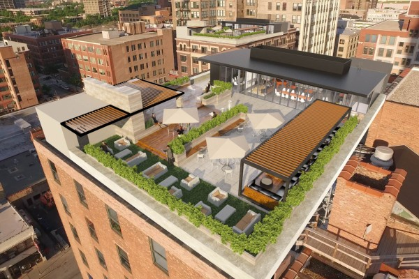 Rooftop Deck and Lounge
